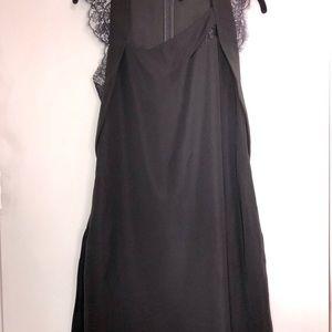 The Kooples, Black, shift dress. Size 2